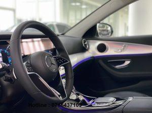 nội thất mercedes E180 mới 2021